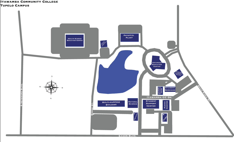 Lakeland Community College Campus Map.Home Itawamba Community College
