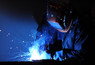 On the Job training - welding image